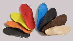 Insoles orthopedic individual under the order