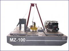 Земснаряд MZ 100. Землесосный снаряд,