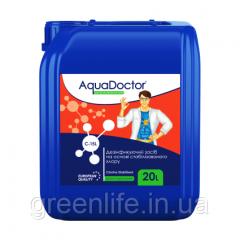 Жидкий хлор, гипохлорит натрия Aquadoctor C-15L