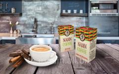 Ground coffee in vacuum packaging of 100 g of TM