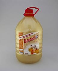 Washed toilet, Liquid soap Blyuksis (honey) 5 l.