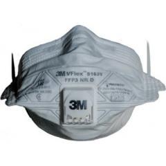 Респиратор 3М VFlex FFP3 9163V с клапаном 3М 9163V