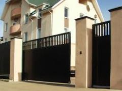Ворота откатные, откатные ворота от производителя,
