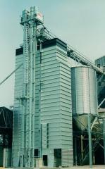 Зерносушилка шахтного типа энергосберегающая