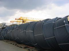 Pipes are polyvinylchloride, a pipe of