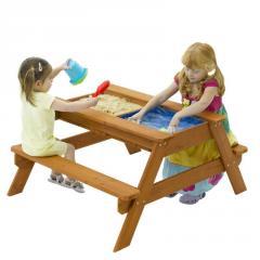 Children's sandbox table