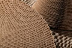Filler cellular of paper, a foil, polymeric paper