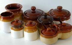Хозяйственные керамические изделия