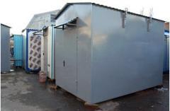 Container equipment room