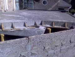 Foam concrete monolithic production delivery