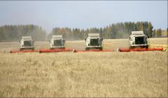 Оборудование для уборки урожая зерновых культур,