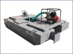 Pumps for hydraulic washing-out. Dredges for
