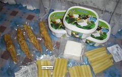 Cheese Chechil - the brine cheese weaved into a