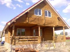 Houses fellings wooden.