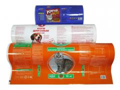 Упаковка для сухих кормов для животных