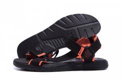 Мужские кожаные сандалии Nike Track Black...