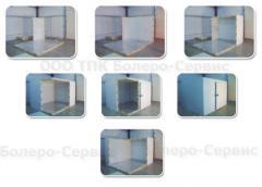 Сборные холодильные камеры -  с вынесенным или встроенным холодильным агрегатом
