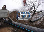 Construction of the main pipelines Ukraine