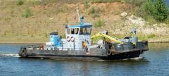 Sea tugs. Motorized zavoznya.