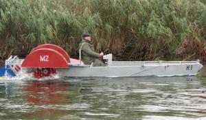 Boat cargo motor K-2.