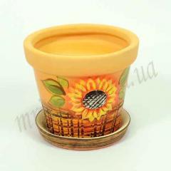 Горшок керамический для пересадки цветов Туя 1,8 л