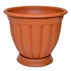 Пластмассовый горшок для цветов Амалия 15