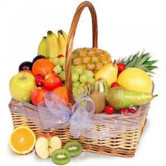 Корзины фруктов с бесплатной доставкой по Киеву