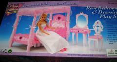 Кукольная мебель Глория 2614 Спальня Барби -