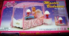 Кукольная мебель Глория 2314 Спальня принцессы