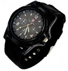 Мужские кварцевые часы Swiss Army Черные | Мужские