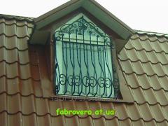 Ковані віконні решітки