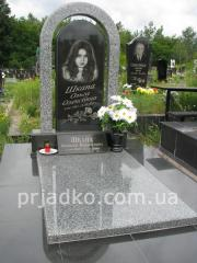 Gravestone on a grave, Gravestones on a grave,