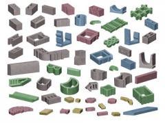 Металлоформы для всех видов мелкоштучных бетонных