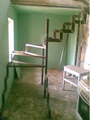 Лестницы для дома металлические луцк, лестница в