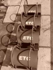 Equipment, knots, details of external gas