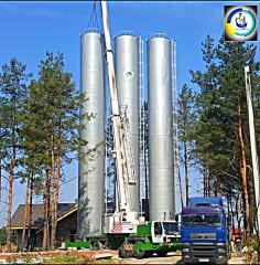 Изготовление (производство) водонапорных башен