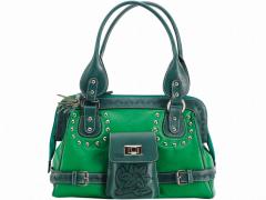 Handwork women bag from genuine leather