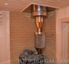 Saunas construction, design, material choice