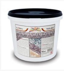 Mosaic Kaprol-Ukraine plaster of the PShZ-1 brand