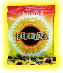 Fried sunflower seeds, 80 g, wholesale in Ukraine