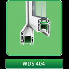 Окна металлопластиковые WDS - 404 – 4-камерная