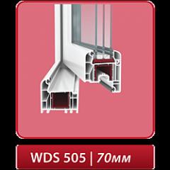 Окна металлопластиковые WDS - 505 – 5-камерная
