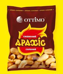 Peanut of salty 200 g, wholesale