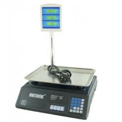 Весы торговые электронные до 50 кг Matarix MWS-411