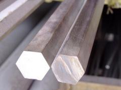 Hexagon corrosion-proof 12. Brands of steel