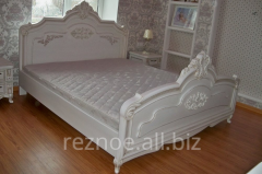 Bedroom from a natural tree, sleeping set from the