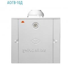 Аппарат отопительный бытовой газовый дымоходный АОГВ/АКГВ 10 Д