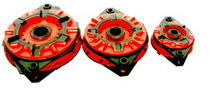 Муфта-тормоз фрикционная пневматическая УВ3132