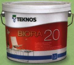 Semi-gloss interior paint of Bior 20
