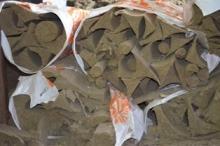 Basalt backfilling (basalt chippings)